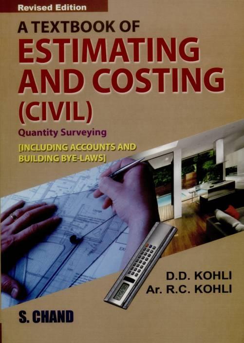 quantity surveying books pdf indian authors