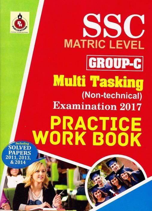 SSC Multi Tasking (Non- Technical) Practice Book