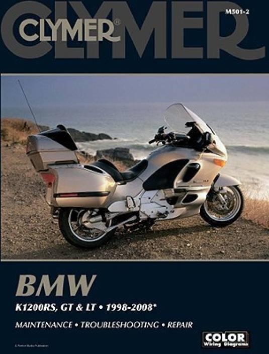 BMW K1200RS GT LT 19982008 Clymer Color Wiring Diagrams – K1200rs Wiring Diagram