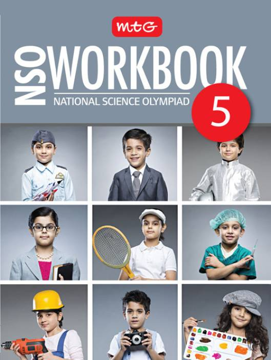 MTG National Science Olympiad (NSO) Workbook (Class 5)