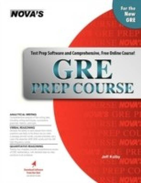 GRE Prep Course [With CDROM]