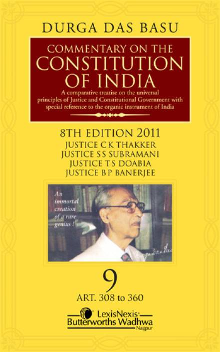 Shorter Constitution Of India (Set of 2 Volumes) 14th Editon Edition