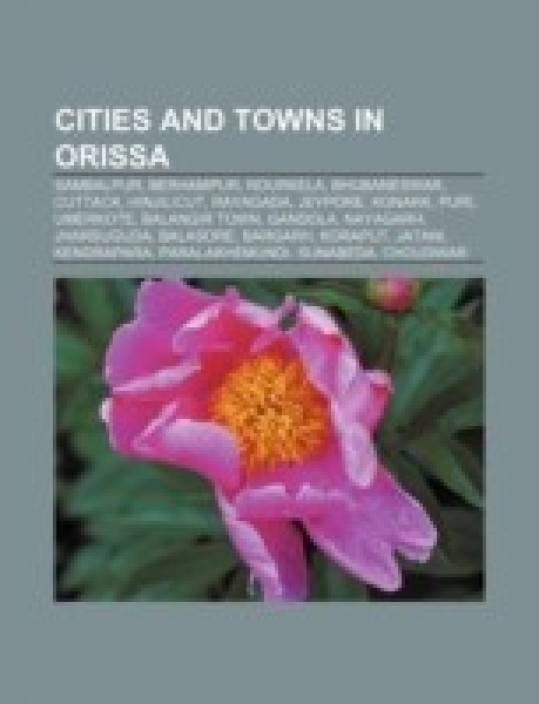 Cities and towns in Orissa: Sambalpur, Berhampur, Rourkela