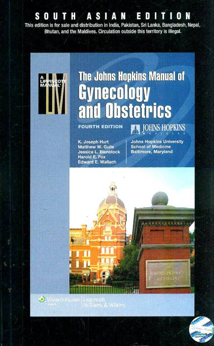 The Johns Hopkins Manual of Gynecology and Obstetrics 4th Edition