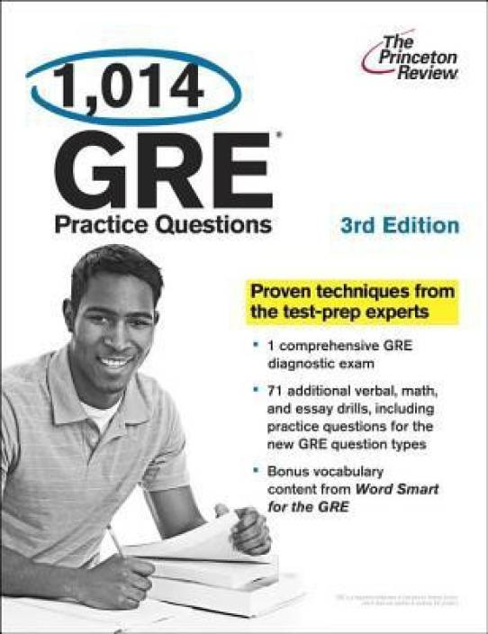 1,014 GRE Practice Questions, 3rd Edition