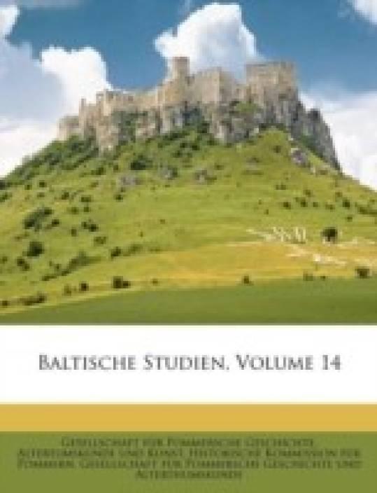 BALTISCHE STUDIEN, VOLUME 14