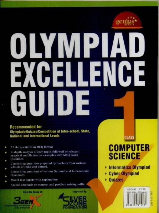 Olympiad Excellence Guide - Computer Science (Class - 1) 1st Edition