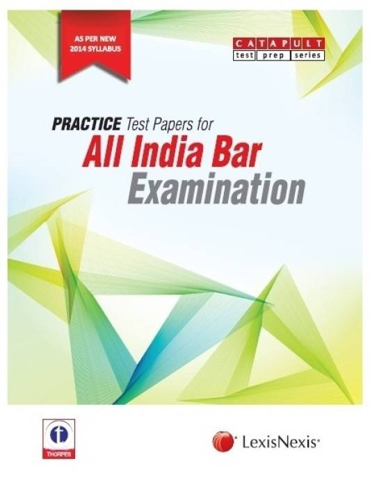 Practice Test Papers For All India Bar Examination 1st