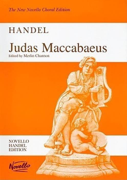 Judas maccabaeus: handel (new novello choral edition): buy judas.