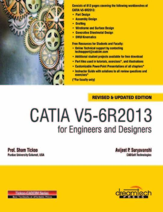 Catia V5-6R2013 for Engineers and Designers - Buy Catia V5-6R2013 ...