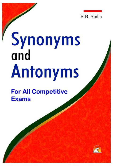 antonyms and synonyms for competitive exams pdf