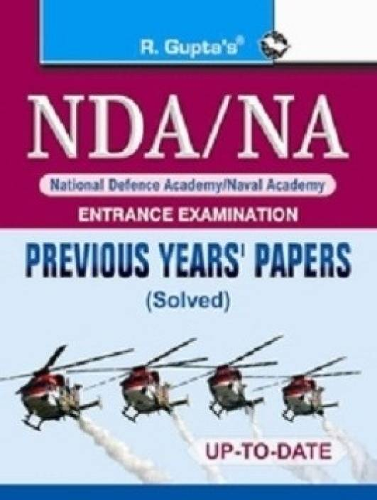NDA/NA Previous Solved Papers 1st Edition