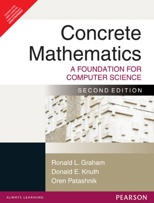 Concrete mathematics a foundation for computer science 2nd edition concrete mathematics a foundation for computer science 2nd edition 2nd edition fandeluxe