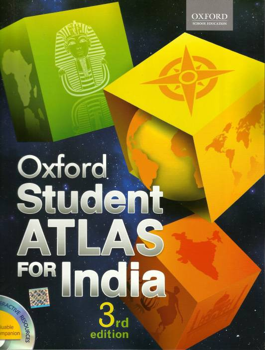 Oxford Student Atlas For India 3 Edition