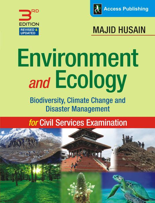 Environment and Ecology - Biodiversity, Climate Change and Disaster Management 3 Edition