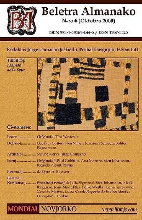 Beletra Almanako 6 (BA6 - Literaturo en Esperanto)