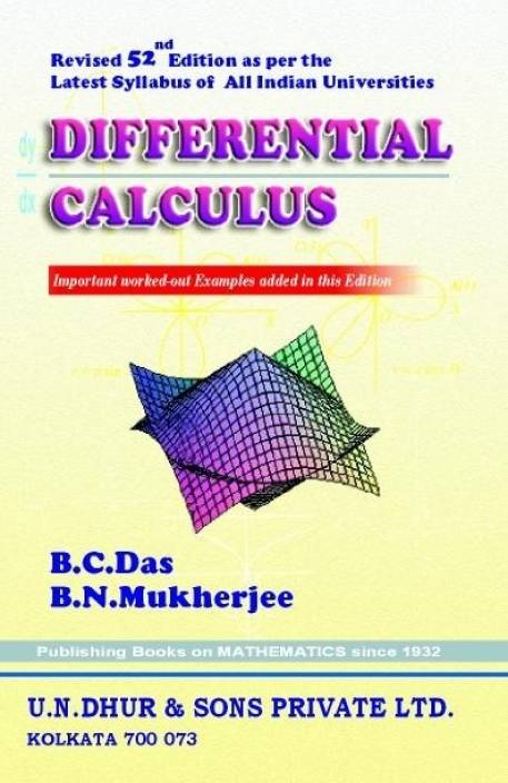 Differential Calculus: Buy Differential Calculus by B  C