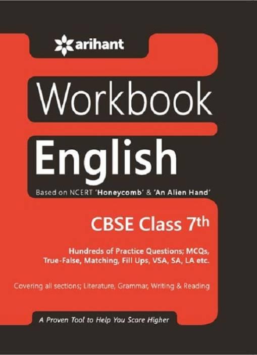 NCERT Practice Workbook English Honeycomb CLASS 7th: Buy NCERT
