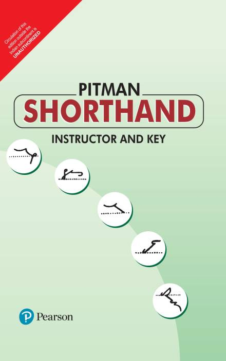Pitman Shorthand Instructor And Key 1st Edition Buy Pitman