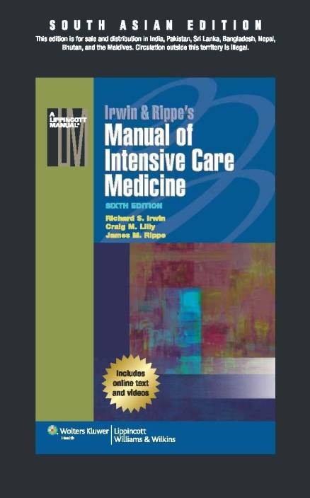 Manual of Intensive Care Medicine 6th Edition: Buy Manual of