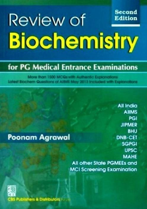 Review Of Biochemistry For Pg Medical Entrance Examination 2