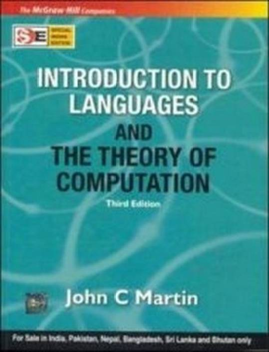 Introduction To Languages And The Theory Of Computation (SIE) 3rd  Edition
