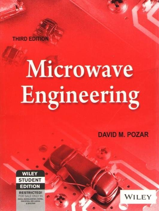 Microwave Engineering 3rd Edition
