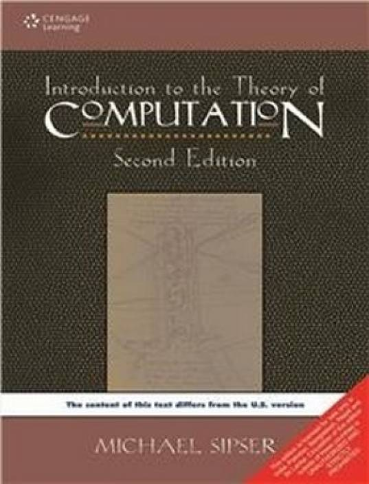 Introduction to Theory of Computation 2nd Edition 2nd  Edition