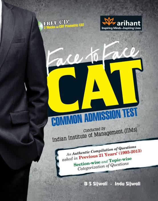 Face to Face CAT Common Admission Test (With CD) 7th Edition