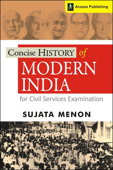 Concise History of Modern India for Civil Services Examination 1 Edition