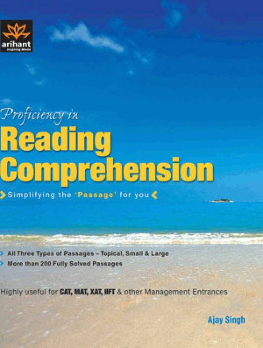 Proficiency in Reading Comprehension Simplifying the 'Passage' for you 1st Edition