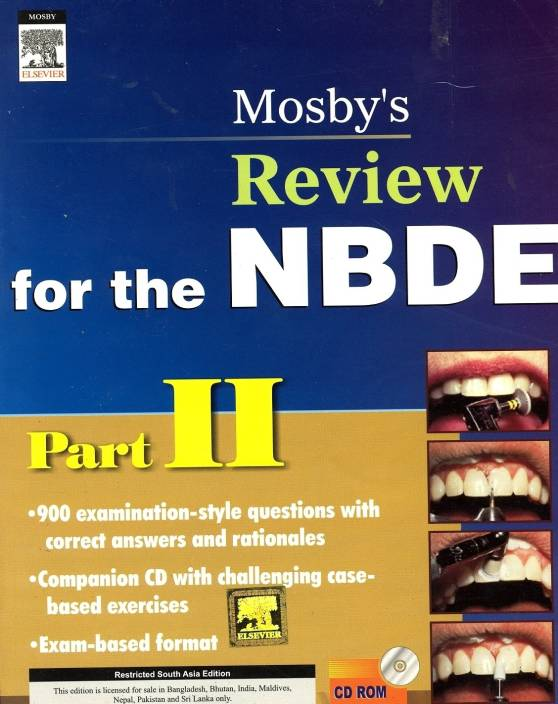 Mosby's Review for NBDE (Part - 2) 1st Edition: Buy Mosby's