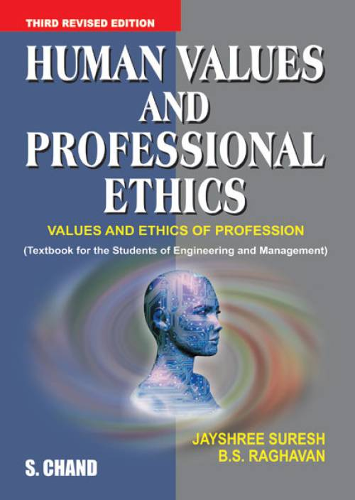 human values and ethics in the