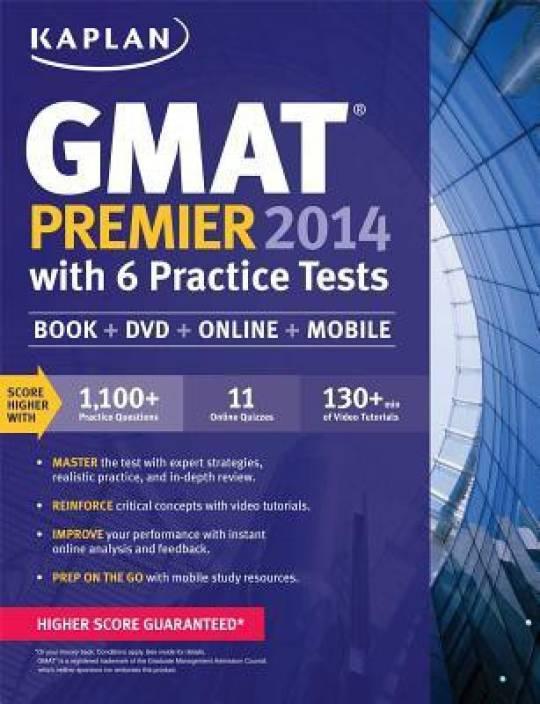 Kaplan GMAT Premier with 4 Practice Tests