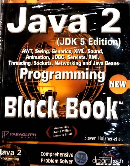 JAVA 2 PROGRAMMING BLACK BOOK JDK 5ED 5th Edition