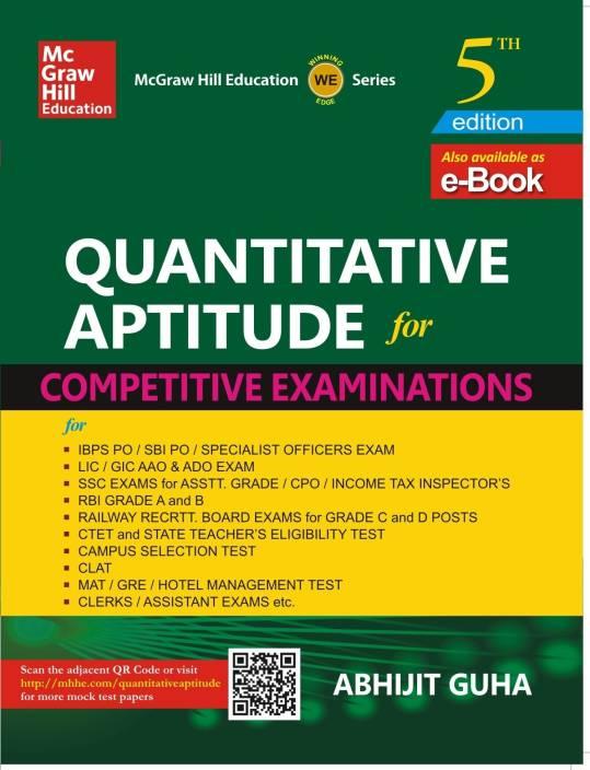 Quantitative Aptitude for Competitive Examinations 5th  Edition