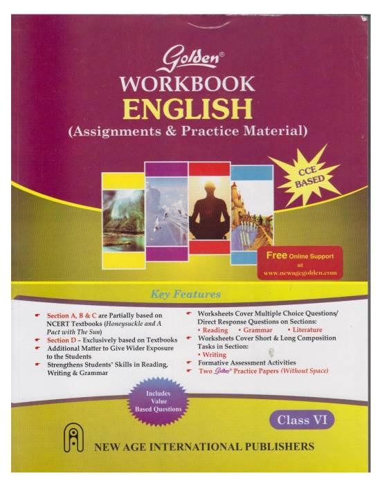 Golden - English Workbook (Class-6) : Assignments & Practice