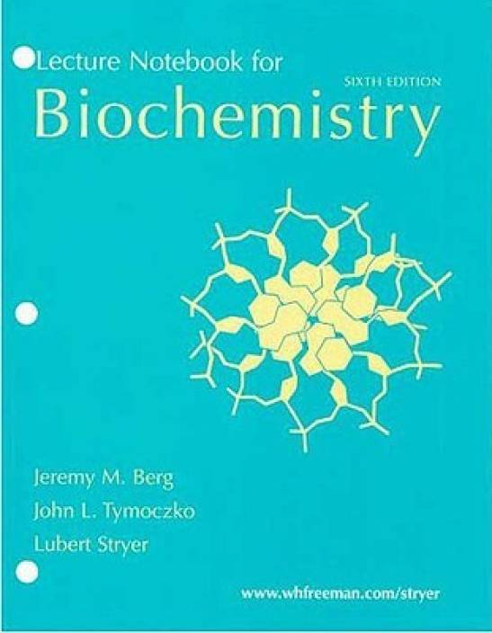 Biochemistry: Lecture Notebook for
