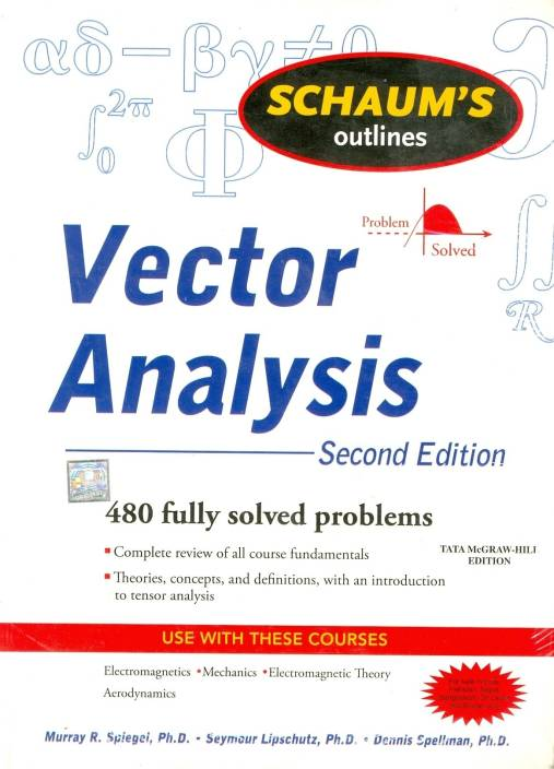 Vector Analysis Buy Vector Analysis By Spiegel Murray At Low Price