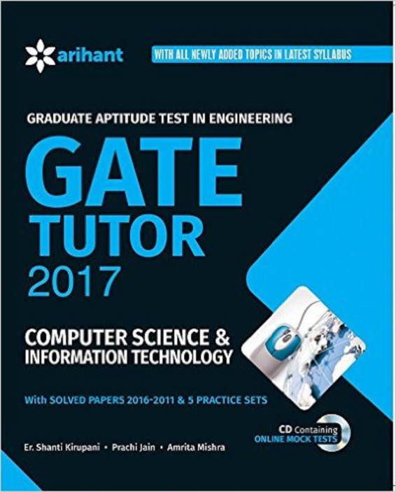 GATE Tutor 2017 Computer Science & Information Technology Single Edition