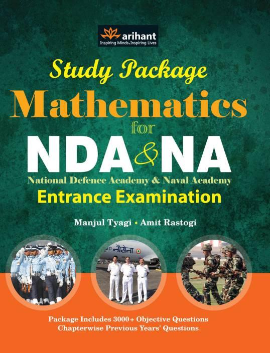 NDA & NA National Defence Academy & Naval Academy Entrance Examination Mathematics