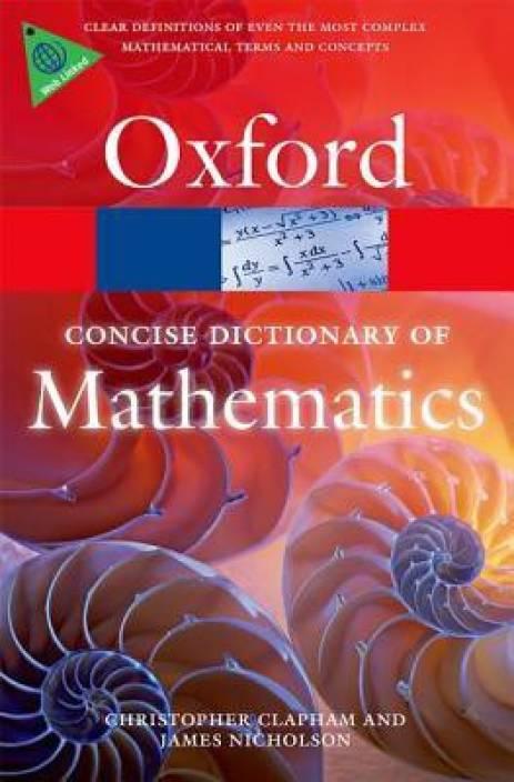 mathematics dictionary a to z pdf