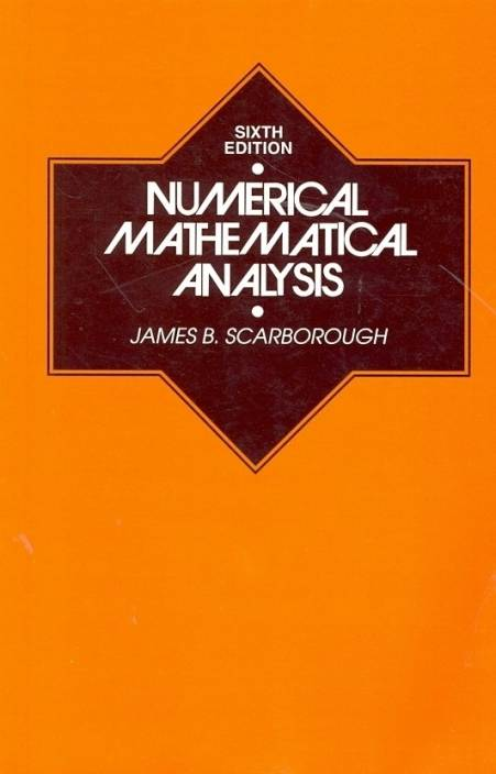 NUMERICAL MATHEMATICAL ANALYSIS: Buy NUMERICAL MATHEMATICAL