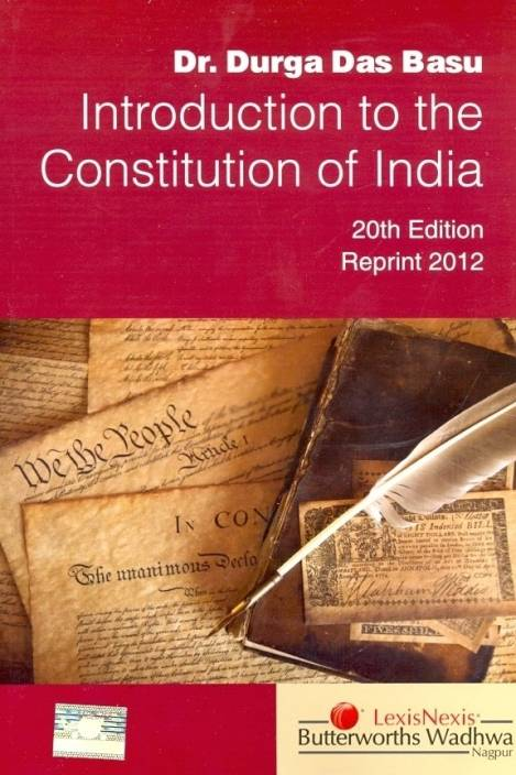 Introduction to the Constitution of India 20th  Edition