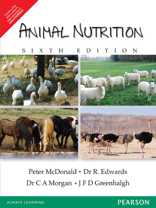 Animal Nutrition 1st Edition