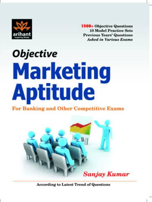 Objective marketing aptitude publisher arihant