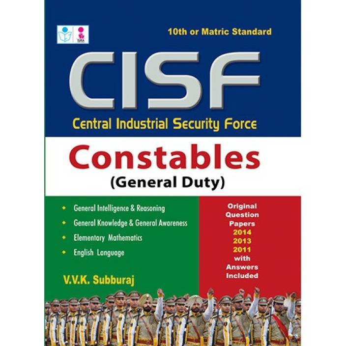 CISF Recruitment Constable (General duty) Exam Book