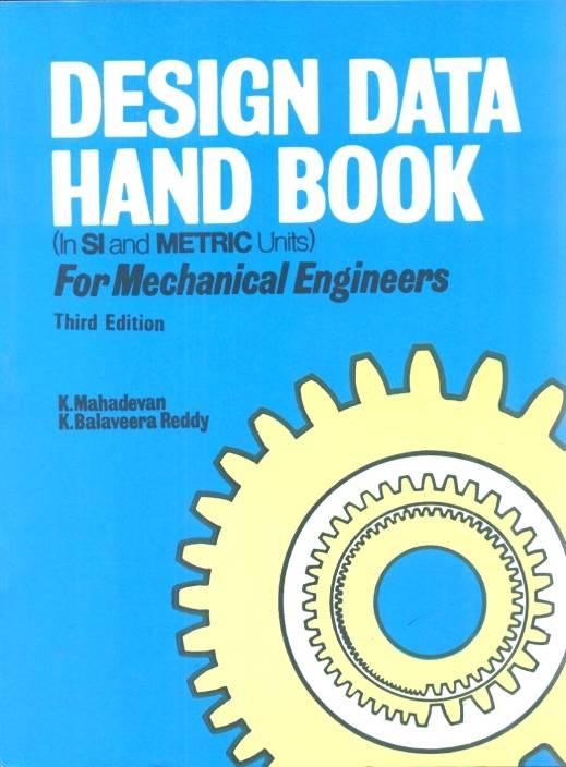 psg mechanical design data book free