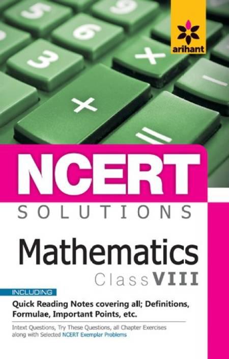 NCERT Solutions MATHEMATICS for class 8: Buy NCERT Solutions
