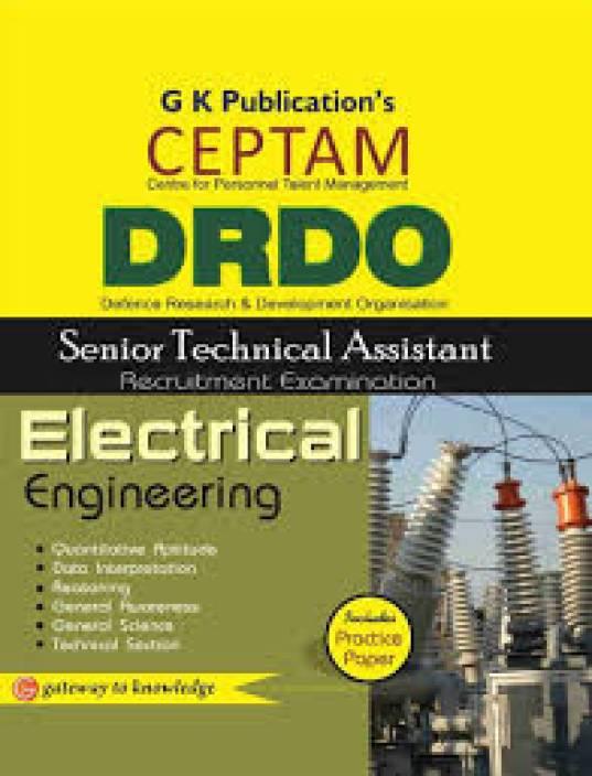 DRDO (CEPTAM)Sr.Tech. Asst. Electrical Engineering 5/e 5th  Edition